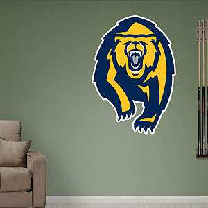 "Cal Golden Bears ""Bear"" Logo Fathead Wall Decal"
